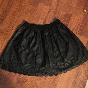 Leather skirt 💓